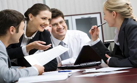 Como é a comunicação com a sua equipe?